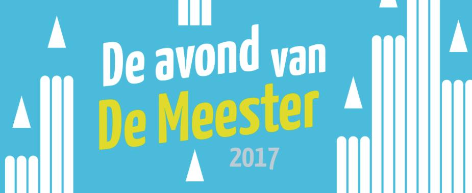 Uitnodiging De Avond van De Meester 2017