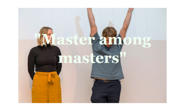 Last but not least: Master among Masters