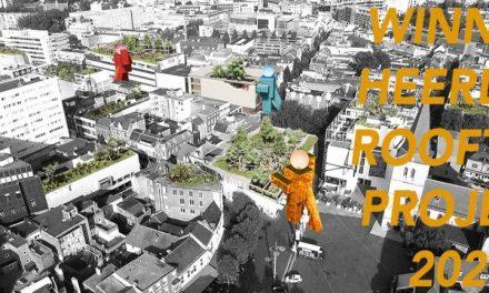 Architectenbureau TomDavid wint  de ideeënprijsvraag Uit Je Dak, The Heerlen Rooftop Project, 9 maart 2020