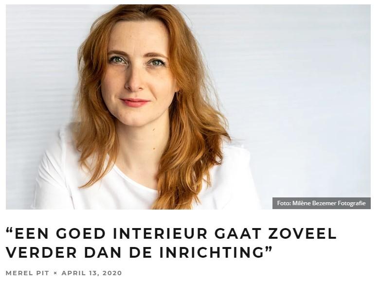BIJZONDER, MEREL PIT INTERVIEWT ILSE MATHIJSSEN!